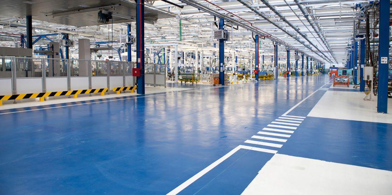 epoxy floor covering